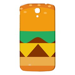 Hamburger Bread Food Cheese Samsung Galaxy Mega I9200 Hardshell Back Case