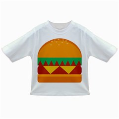 Burger Bread Food Cheese Vegetable Infant/Toddler T-Shirts