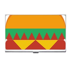 Burger Bread Food Cheese Vegetable Business Card Holders