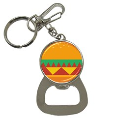 Burger Bread Food Cheese Vegetable Button Necklaces