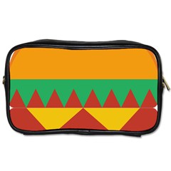 Burger Bread Food Cheese Vegetable Toiletries Bags 2 Side