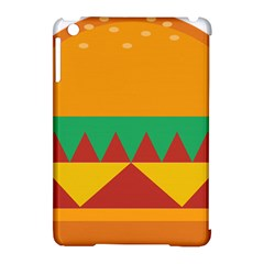 Burger Bread Food Cheese Vegetable Apple iPad Mini Hardshell Case (Compatible with Smart Cover)
