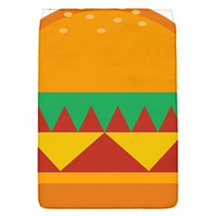 Burger Bread Food Cheese Vegetable Flap Covers (S)