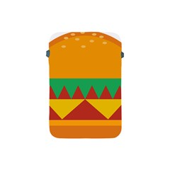 Burger Bread Food Cheese Vegetable Apple iPad Mini Protective Soft Cases