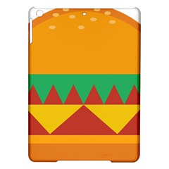 Burger Bread Food Cheese Vegetable iPad Air Hardshell Cases