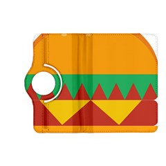 Burger Bread Food Cheese Vegetable Kindle Fire HD (2013) Flip 360 Case