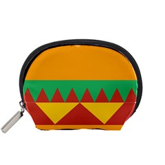 Burger Bread Food Cheese Vegetable Accessory Pouches (small)