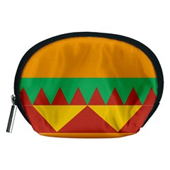 Burger Bread Food Cheese Vegetable Accessory Pouches (Medium)