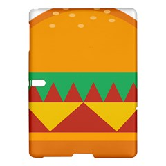 Burger Bread Food Cheese Vegetable Samsung Galaxy Tab S (10 5 ) Hardshell Case