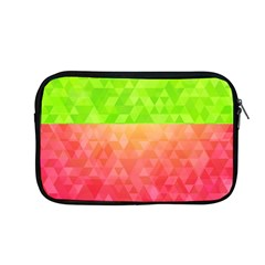 Colorful Abstract Triangles Pattern  Apple Macbook Pro 13  Zipper Case
