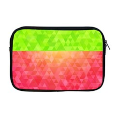 Colorful Abstract Triangles Pattern  Apple Macbook Pro 17  Zipper Case