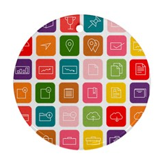 Icons Vector Ornament (round)