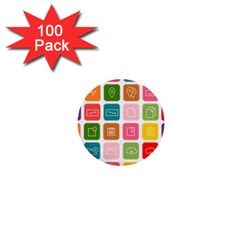 Icons Vector 1  Mini Buttons (100 pack)