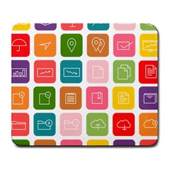 Icons Vector Large Mousepads