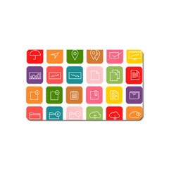 Icons Vector Magnet (name Card)