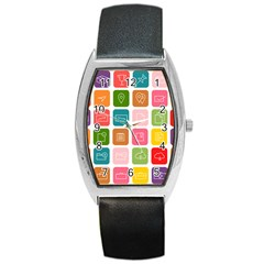 Icons Vector Barrel Style Metal Watch