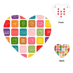 Icons Vector Playing Cards (Heart)