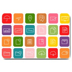 Icons Vector Large Doormat