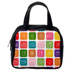 Icons Vector Classic Handbags (one Side)