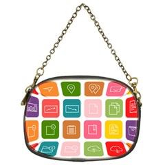 Icons Vector Chain Purses (one Side)