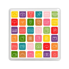 Icons Vector Memory Card Reader (square)