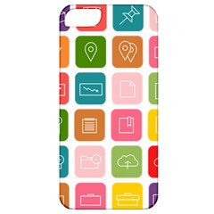 Icons Vector Apple iPhone 5 Classic Hardshell Case