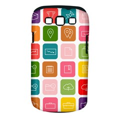 Icons Vector Samsung Galaxy S III Classic Hardshell Case (PC+Silicone)