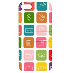 Icons Vector Apple iPhone 5 Hardshell Case with Stand