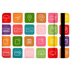 Icons Vector iPad Air Flip