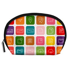 Icons Vector Accessory Pouches (Large)