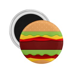 Vector Burger Time Background 2 25  Magnets