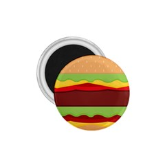 Vector Burger Time Background 1.75  Magnets