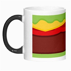 Vector Burger Time Background Morph Mugs