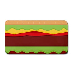 Vector Burger Time Background Medium Bar Mats