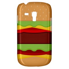 Vector Burger Time Background Galaxy S3 Mini