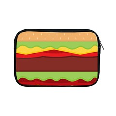 Vector Burger Time Background Apple iPad Mini Zipper Cases