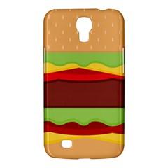 Vector Burger Time Background Samsung Galaxy Mega 6.3  I9200 Hardshell Case