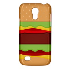 Vector Burger Time Background Galaxy S4 Mini