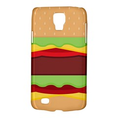 Vector Burger Time Background Galaxy S4 Active