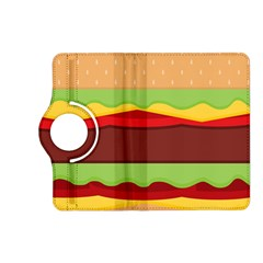 Vector Burger Time Background Kindle Fire HD (2013) Flip 360 Case