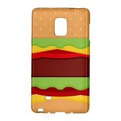 Vector Burger Time Background Galaxy Note Edge