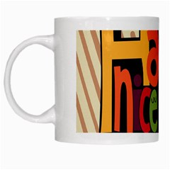 Have A Nice Happiness Happy Day White Mugs
