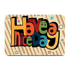 Have A Nice Happiness Happy Day Plate Mats