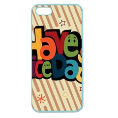 Have A Nice Happiness Happy Day Apple Seamless iPhone 5 Case (Color)