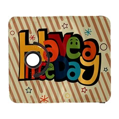 Have A Nice Happiness Happy Day Galaxy S3 (Flip/Folio)