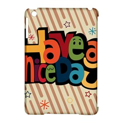 Have A Nice Happiness Happy Day Apple iPad Mini Hardshell Case (Compatible with Smart Cover)