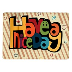 Have A Nice Happiness Happy Day Samsung Galaxy Tab 10.1  P7500 Flip Case