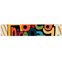Have A Nice Happiness Happy Day Flano Scarf (Large)