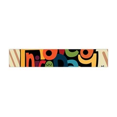 Have A Nice Happiness Happy Day Flano Scarf (Mini)