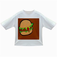 Burger Double Infant/toddler T Shirts